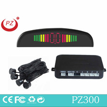good selling wired car radar detector with 4 rear sensors and led display