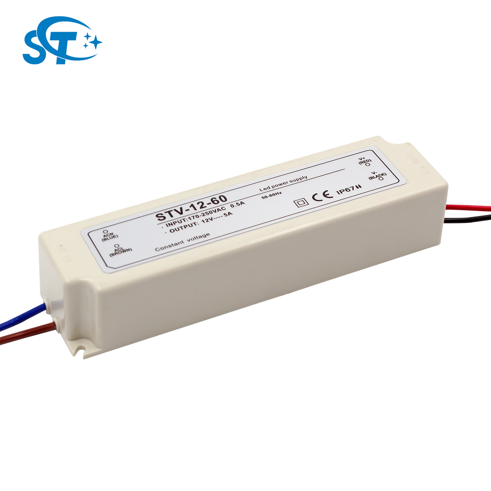 High quality waterproof dc 12v led Switch Switching Power Supply Driver Transformer, 0.83a, 1.67a, 2.5a, 3a, 3.3a, 5a, 8.3a