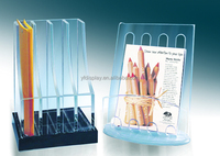 Factory Price Acrylic magazine, file origanizer, book holder