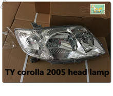 Changzhou auto body parts factory Juhao japanese car parts toyo ta corolla head lamp 2006 2005 model toyota corolla