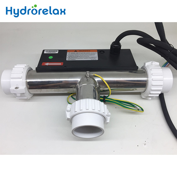 Low Noise Water Heater With Water Connector Pool Heater Pump