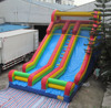 2015 new design beach slide, inflatable surf slide, inflatable slide with pool