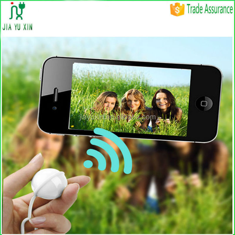 Rechargeable Mini Ball Shape Bluetooth Shutter Remote For iPhone Samsung Smart Phones