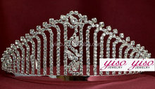 jewelry luxury pageant round crown pageant crowns china
