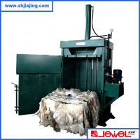 High cost efficiency plastic film small manual baler compactor