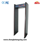 Walk Through Metal Detector, Waterproof & Built-in Battery for Outdoor Use
