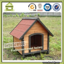 SDD08 Chinese Fir Wood Indoor Dog House