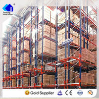 2016 New Design Industrial Storage Drive In Pallet Rack System
