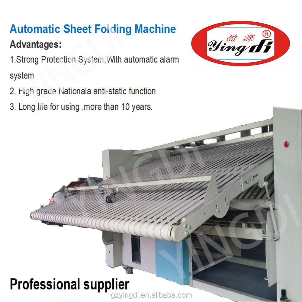 Sheet, Table, Clothes, Bed Sheet Automatic Folding Machine,industrial Folder  Machine For
