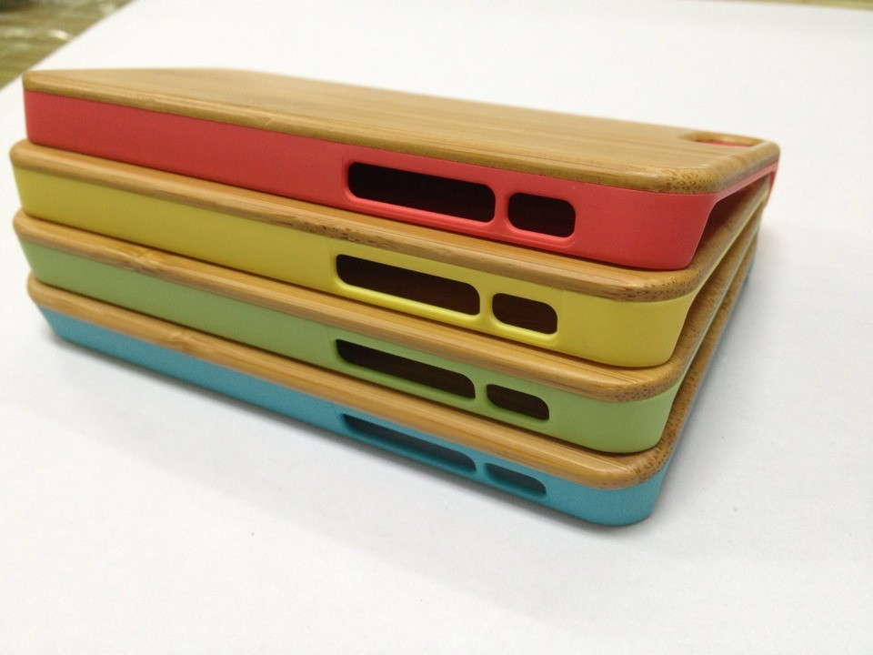 high quality wood accessories for iphone5c cases back cover