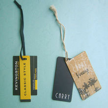 China manufacture custom garment tag