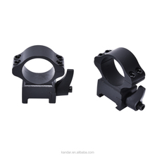 KDGS004 Hunters Universal 2 x 21mm Scope Ring Mounts Steel Fit on Dovetail Mount Hunting With Quick Detach