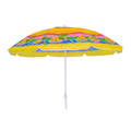 promotional beach umbrella with customerized printing design advertising umbrella