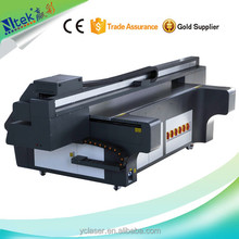 Multi-color digital Crystal glass mosaic flatbed printer for stable and high speed printing