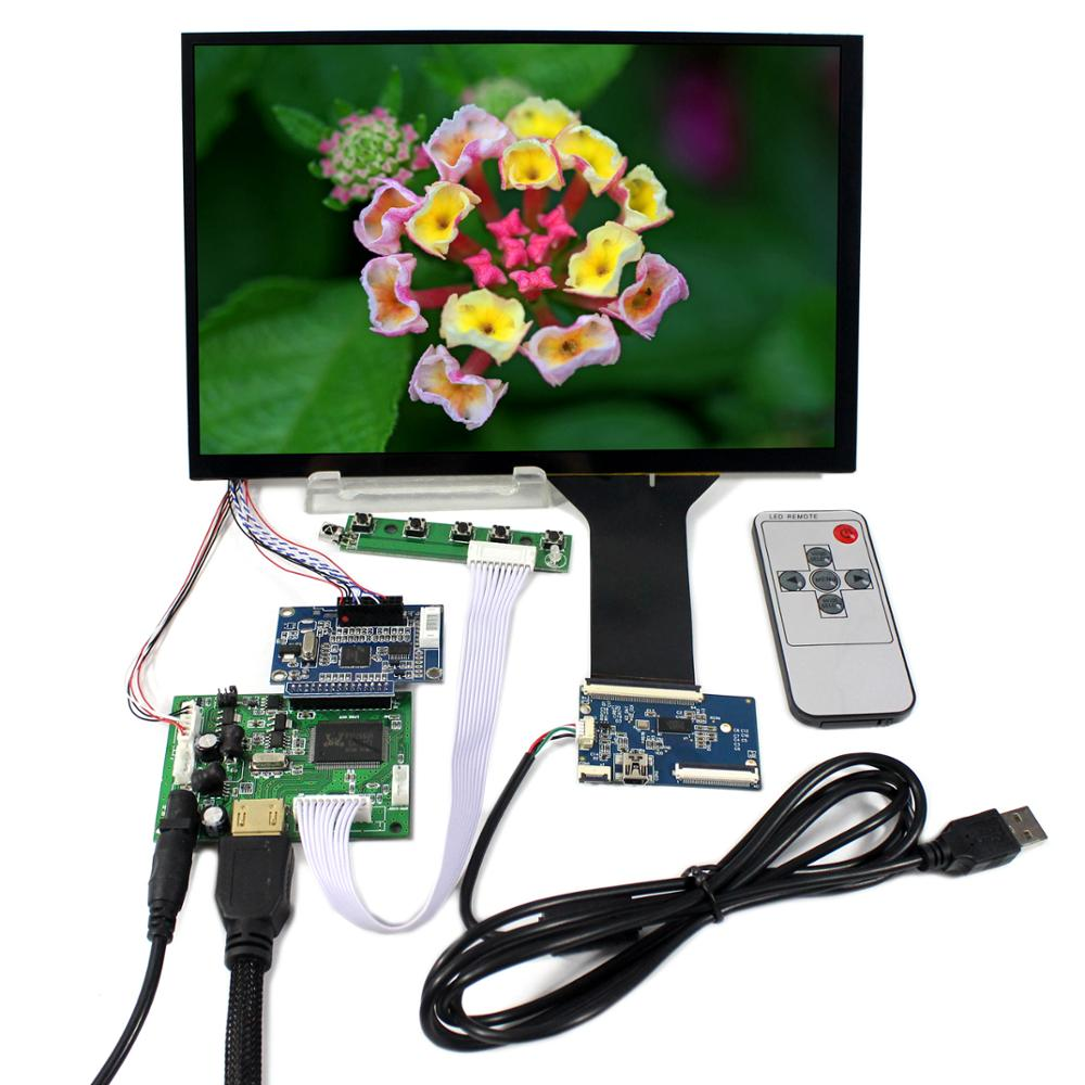 LCD HDMI Board with 10.1inch LCD Panel B101UAN01, Capacitive Touch Screen