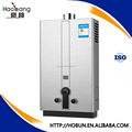 12L stainless steel forced exhaust gas water heater for Russia market