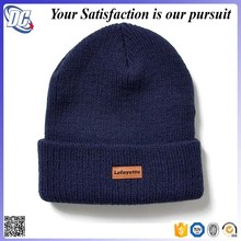 Embossed designer personalized novelty mens organic cotton beanies