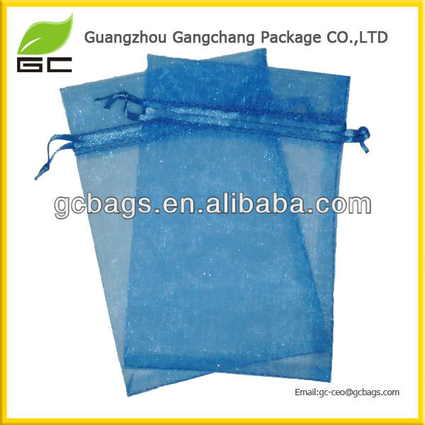 2016 new style Promotion Industrial Use organza bags