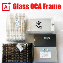 Front Glass Assembled Glass Lens/Hot Glue Frame/OCA/Polarizer For iPhone 6 6s 7 plus 5 LCD Refurbish glass replacment bezel film
