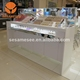 marble display stand for cosmetics store furniture