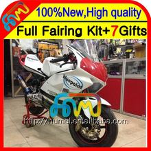 7gifts For HONDA NSF100 06-10 NEW White NSF 100 06 07 08 09 10 9CL37 NSF-100 2006 2007 2008 Black white 2009 2010 Race Fairing