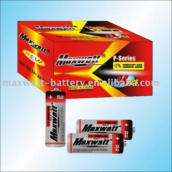 R6P SIZE AA UM-3 DRY CELL BATTERY 2DOZ/BOX