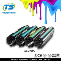 Office Supply Color Toner Cartridge CE270A for HP Laser Printer