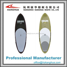 Epoxy INNEGRA material 8' surfboard/sup paddle with deck pad and fins