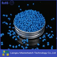 blue masterbatch for plastics hdpe blue drum scraps