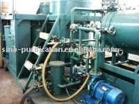 GER Used Oil Regeneration System used engine oil black oil purification