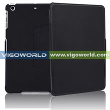 New Arrival protective case for iPad Mini PC+TPU Combo case with secure flap double colors