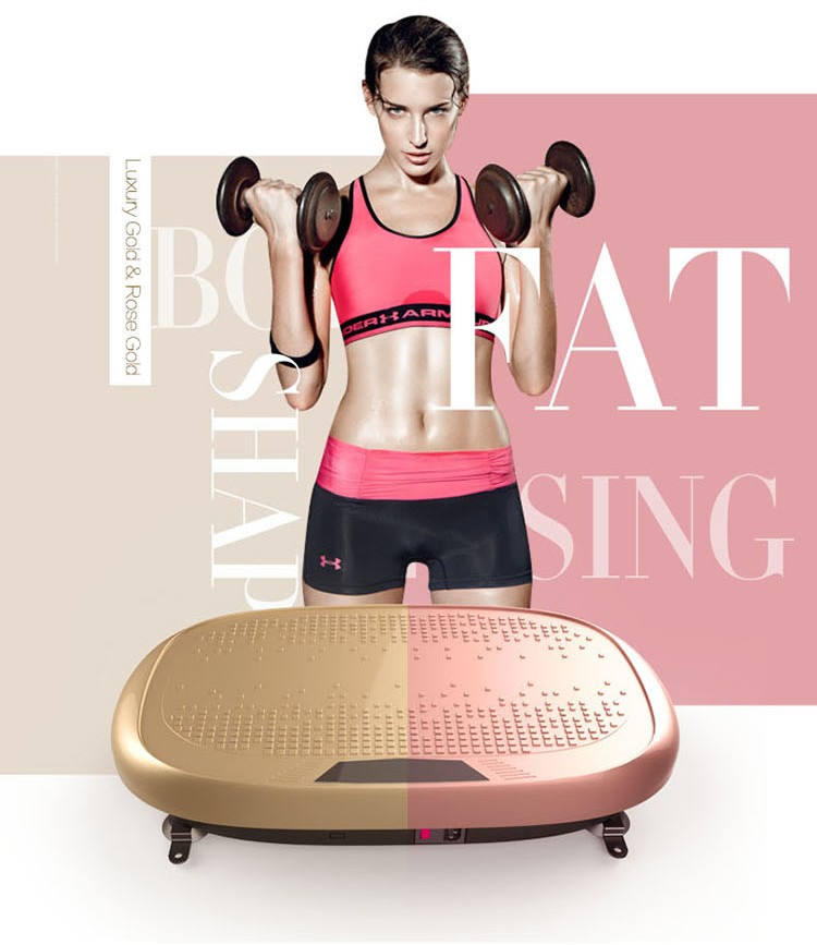 Smart app power slim vibration machine