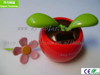 shaking and swinging flip flap solar flower for promotional gifts