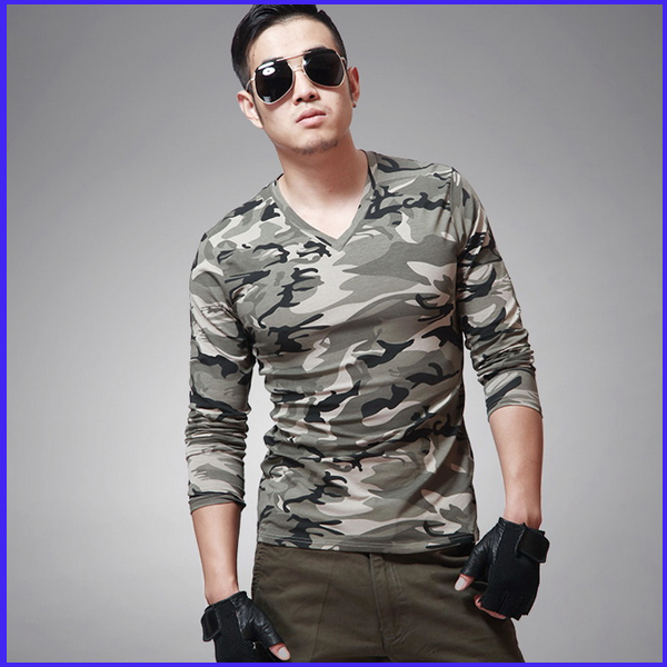 China manufacture custom made army tshirts uniform collar for Army design shirts online