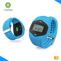 Bluetooth and ANT wristband heart rate monitor watch