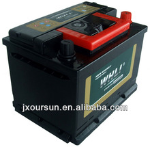 auto spare part 12 volta lead acid battery 65AH 56530 WHLI