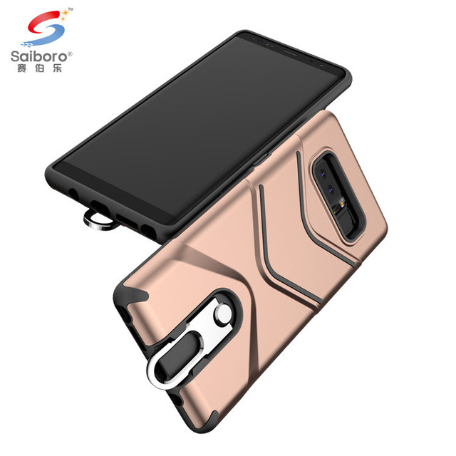 Kickstand phone case cover for samsung note 8 hard case for galaxy note8