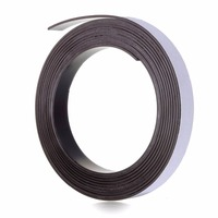 Factory supply fridge rubber coated neodymium magnets with adhesive
