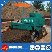 Mobile sludge compost turner machine with best price