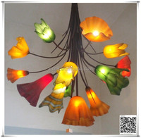 wonderful blown glass chandelier for hanging ceiling light home decoration ideas