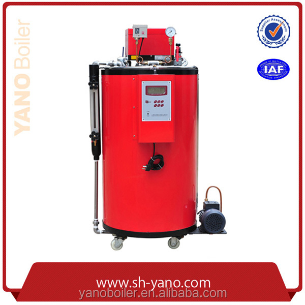 YANO Brand 3-Pass Water Tube Small Diesel Fuel Steam Boiler Capacity 35-50KG/h CE Certificated