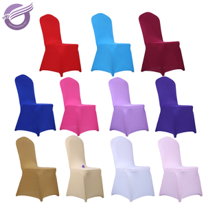 YT00313 Cheap wedding decoration lycra banquet spandex chair covers