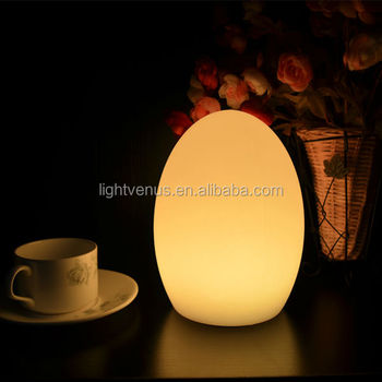 2016 Christmas Egg Table Lamps colorful Lighting Decoration LED Lamps Lighting strength Factory Manufacturing