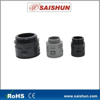 Plastic ROHS Black Machine quick hose connector