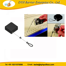 Retail security tethers,security cable for camera,cuboid pull box