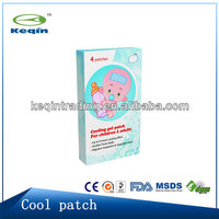 2012 Hottest sale fever hydrocolloid patch cooling patch