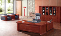 new arrival Office Desk/ latest cheap promotional Wooden Office Furniture (FOH-A86221)