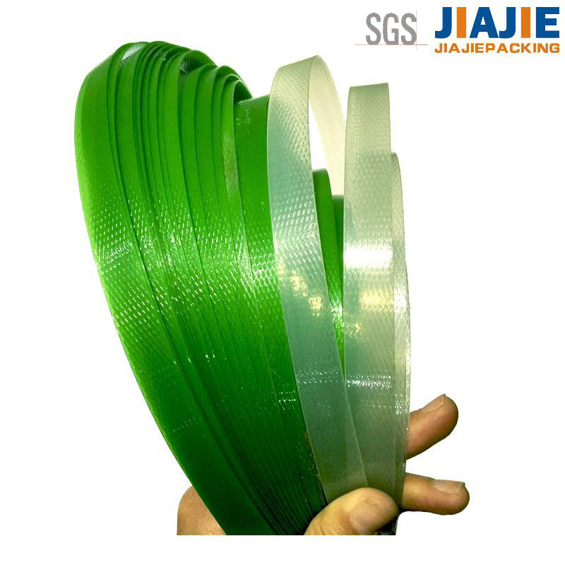 packaging plastic strip/packaging plastic strip machine
