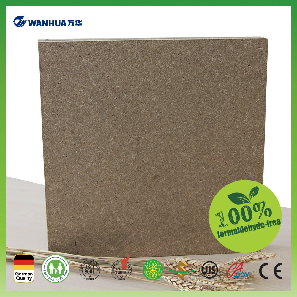 100% formaldehyde free laminate wood particle board