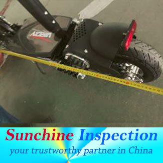 Folding scootere QC loading inspection service in Shenzhen